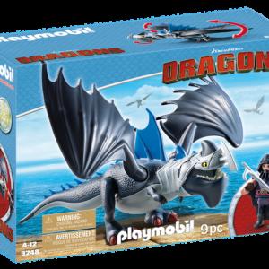 Drago avec dragon de combat