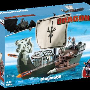 Drago et vaisseau d'attaque