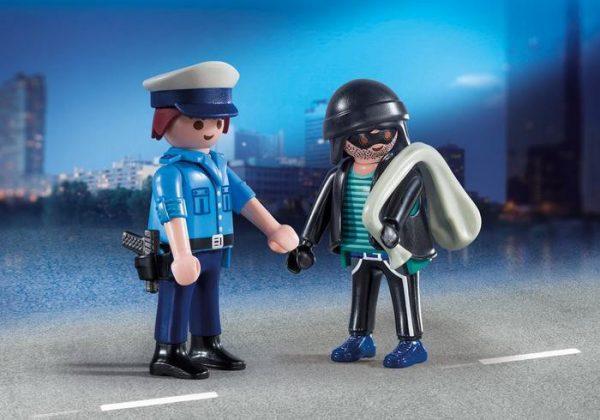 PLAYMOBIL DuoPack Policier et voleur