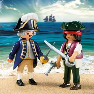 Pirate et soldat royal