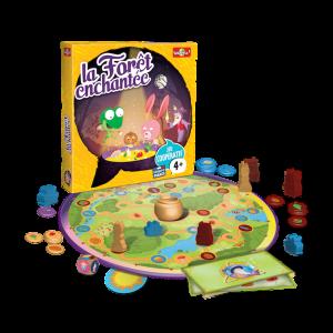 La Forêt Enchantée Un jeu féérique pour apprendre à coopérer.