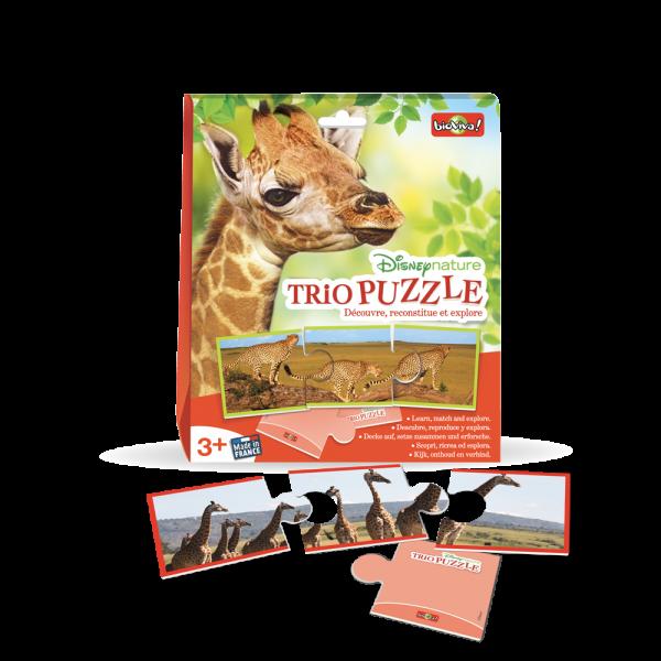 Trio Puzzle Découvre, reconstitue et explore !