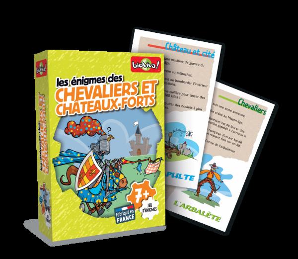 Les Énigmes Chevaliers et Châteaux-Forts