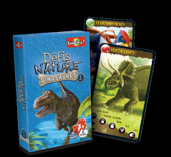 Défis Nature Dinosaures 1 – bleu