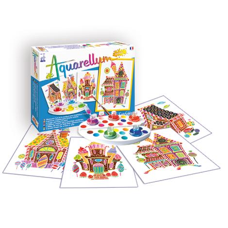 """Aquarellum Junior """"Maisons Gourmandes"""""""