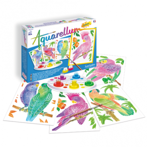"""Aquarellum Junior """"Perroquets"""""""