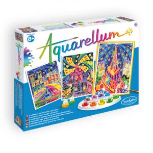 "Aquarellum ""Paris by Night"""