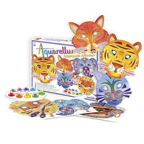 Aquarellum & Masques Animaux