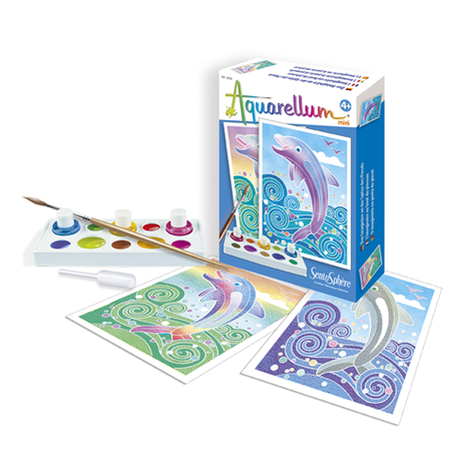 """Aquarellum Mini """"Dauphins"""""""