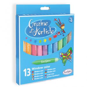 """""""Pochette de 13 Crayons Window Color"""""""