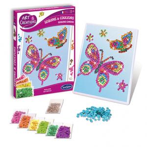 Art & Créations Sequins & Colours - Papillons