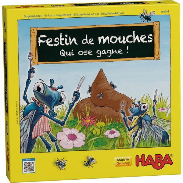 Festin de mouches - Qui ose gagne !