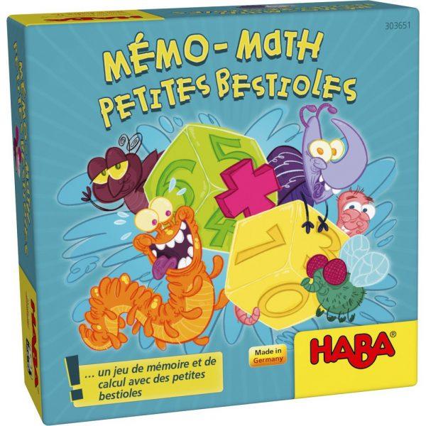 Mémo-math Petites bestioles