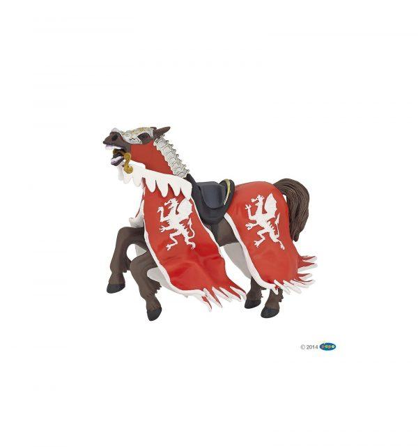 Cheval du roi au dragon rouge