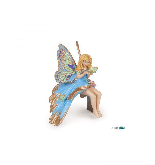 Enfant elfe bleue