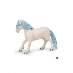 Poney féerique bleu