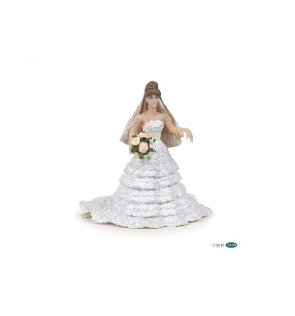 Mariée dentelle blanche