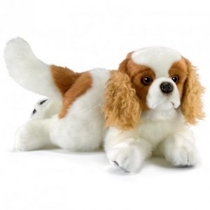Cavalier King Charles couché 27cmL
