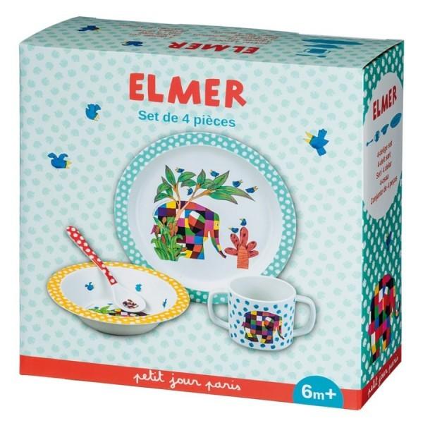COFFRET CADEAU 4 PIÈCES ELMER