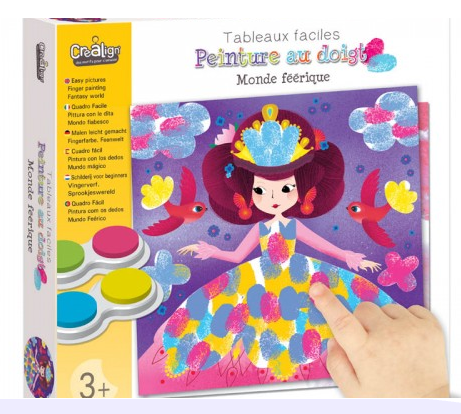 Tableaux faciles peinture au doigt