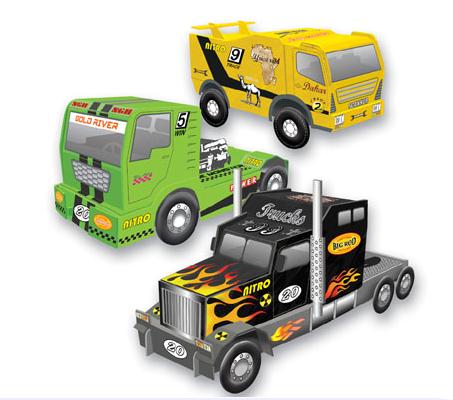 Maquette Déco Camions