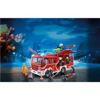 Fourgon d'intervention des pompiers Playmobil Playmobil