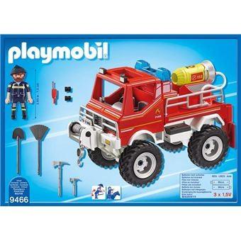 4x4 de Pompier avec lance-eau