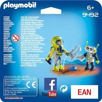 Duo Pack Spationaute et robot