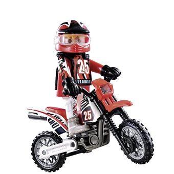 Pilote de motocross