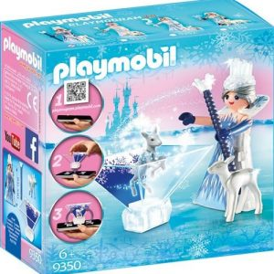 Princesse Cristal avec cristal holographique 3D